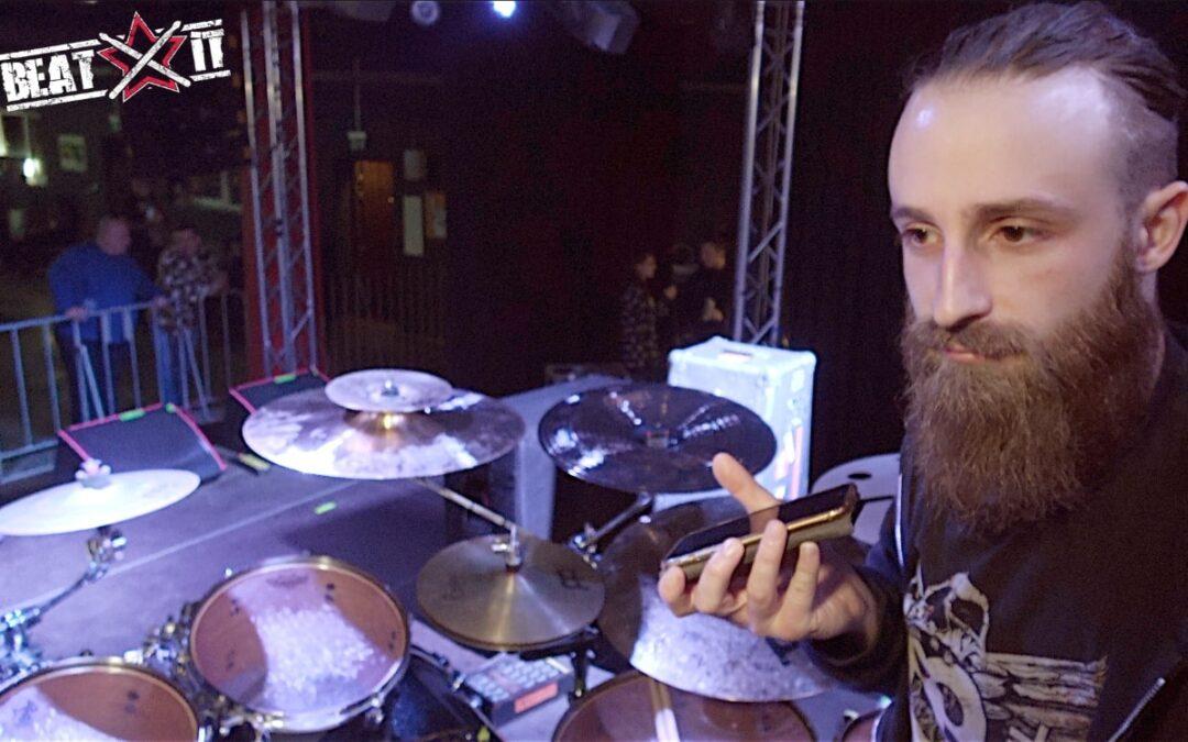 James Stewart presents his drum kit