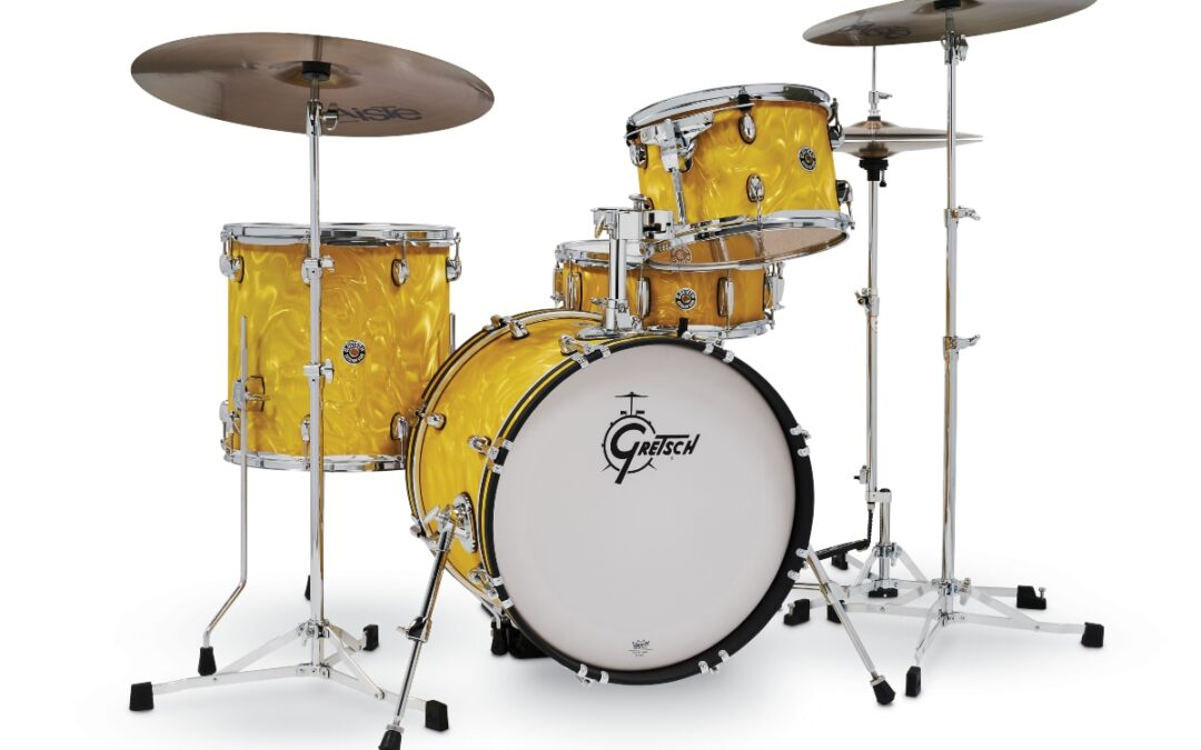 New Finishes for Gretsch Drums