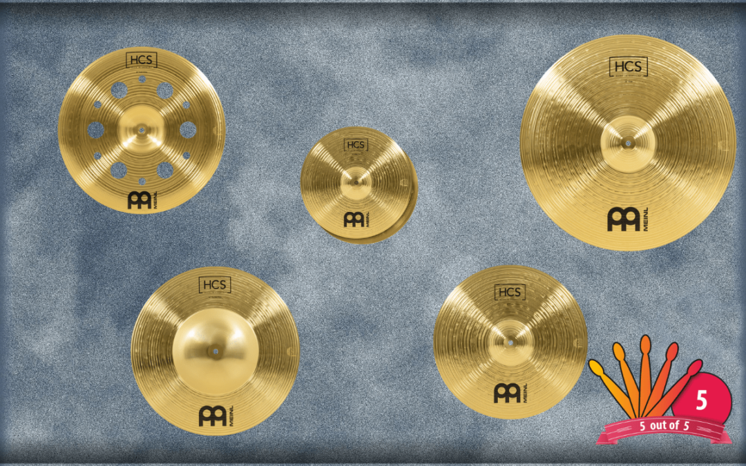 BeatIt Test: Meinl HCS cymbal set