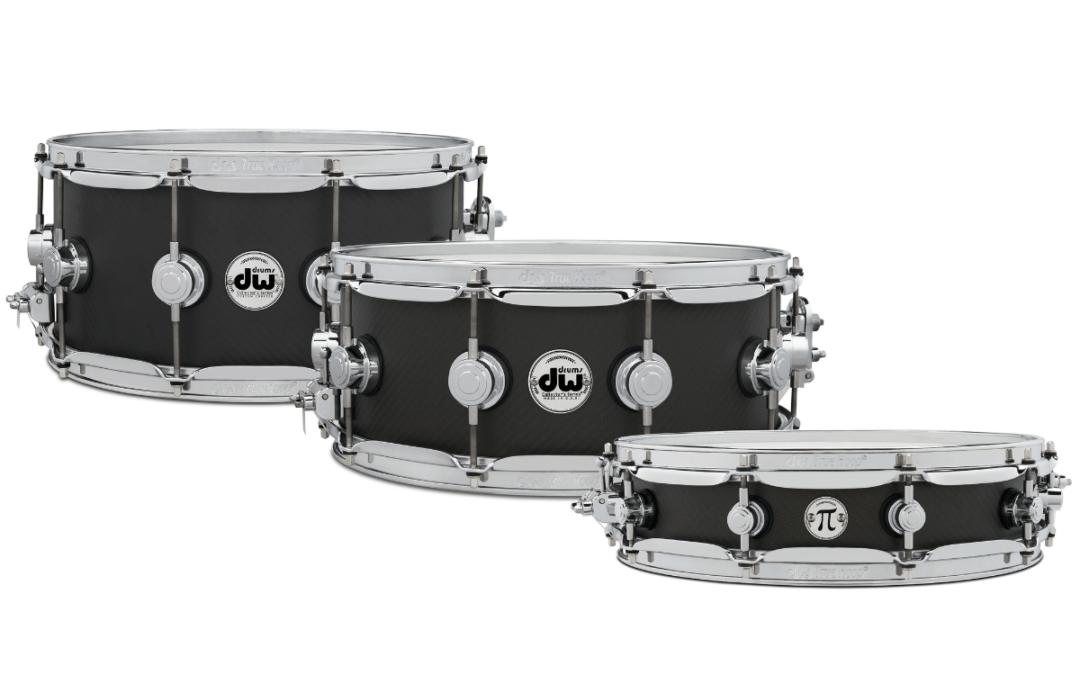 DW Space Carbon Snare Drums