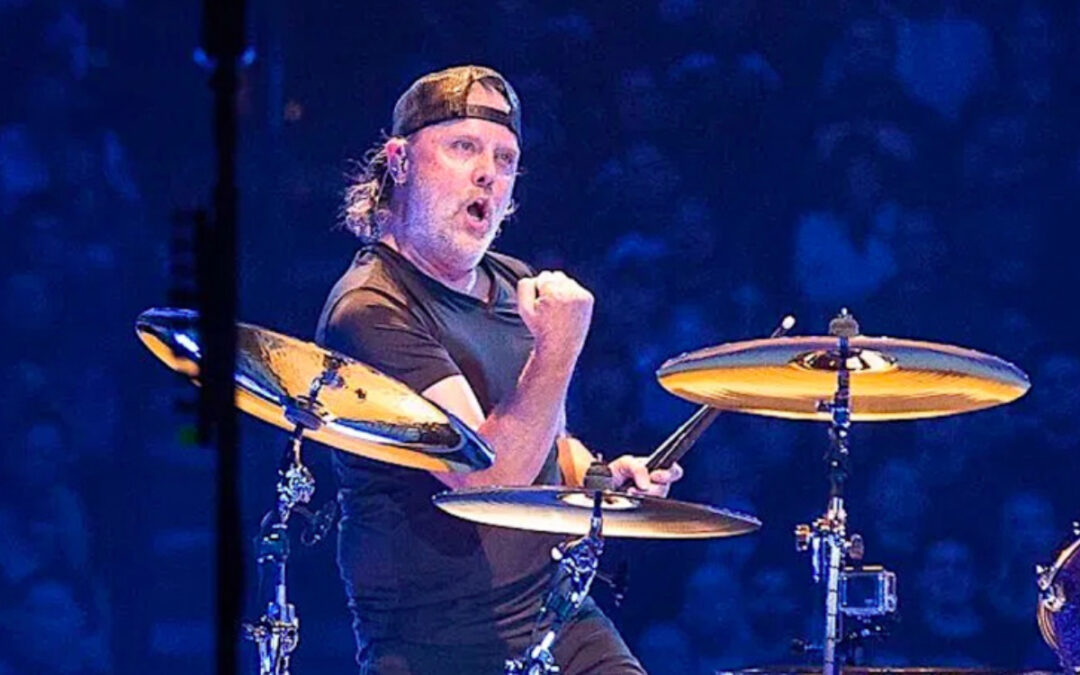 How does Lars Ulrich react to negative comments?