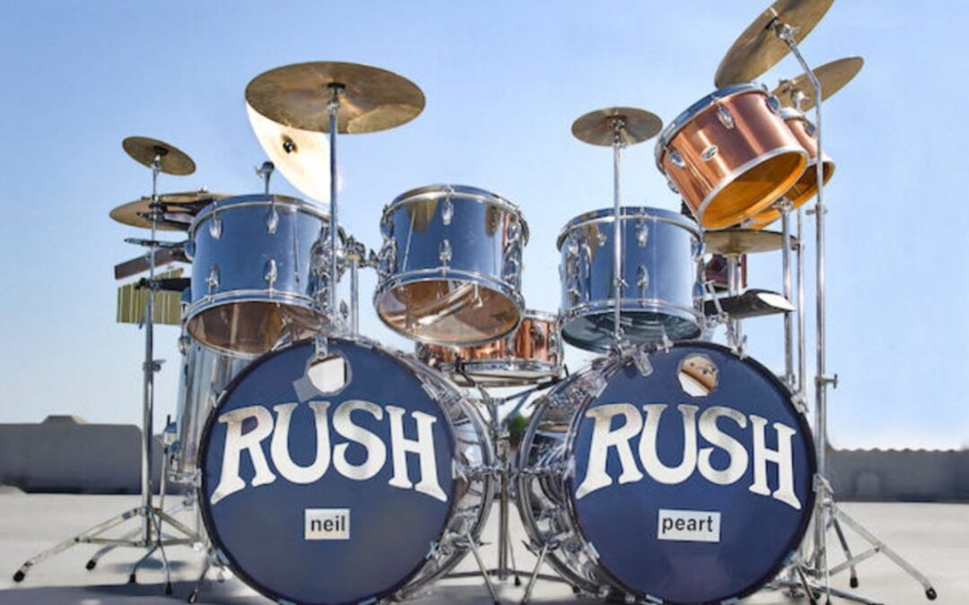 Neil Peart's 1974 – 1977 Rush drum kit sold for $500,000
