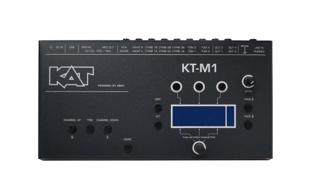 New for 2021: KAT Percussion KT-M1 Drum Module