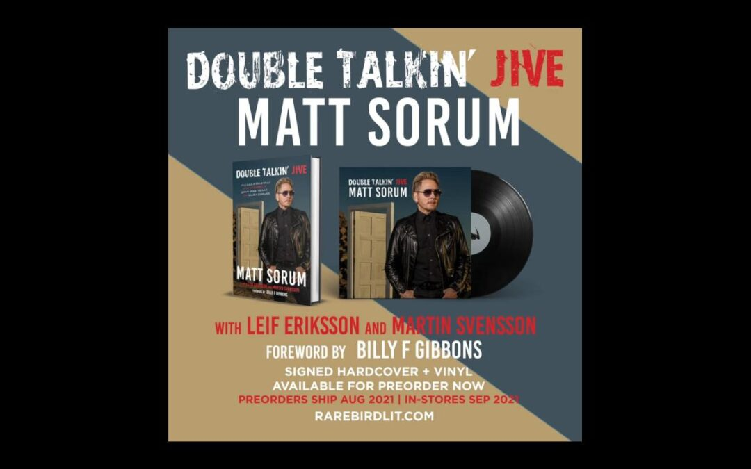 Matt Sorum's new book can be pre-ordered now