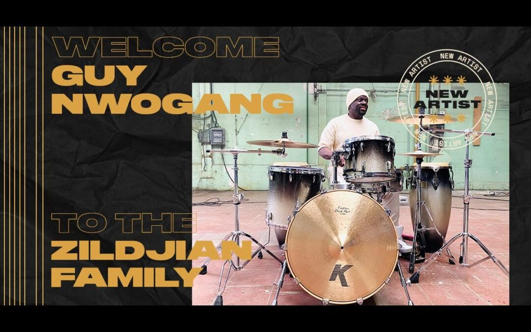 Guy Nwogang joins Zildjian family