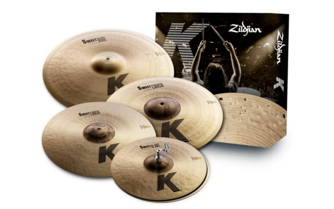Zildjian K Sweet cymbals now available as cymbal pack