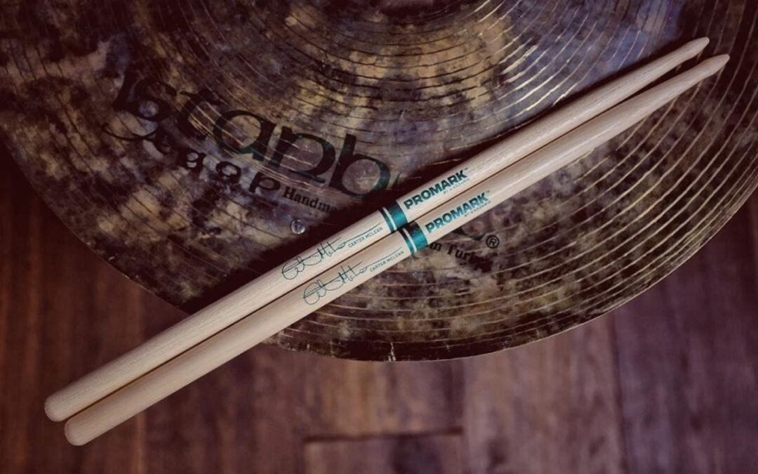 New: Carter McLean signature drumsticks by Promark