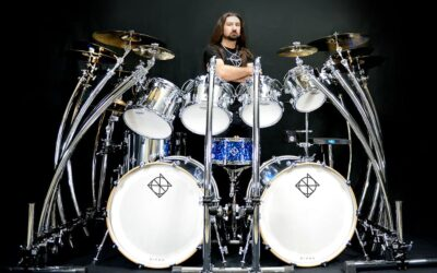 Gee Anzalone (DragonForce) joins Dixon Drums!