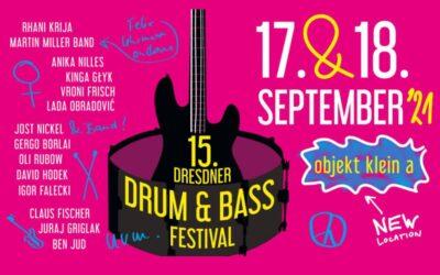 Drumming events: Dresdner Drum & Bass Festival