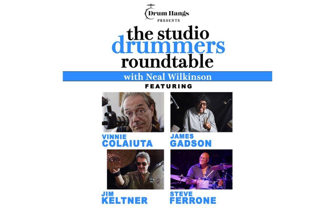 Drum Hangs presents: The Studio Drummers Roundtable