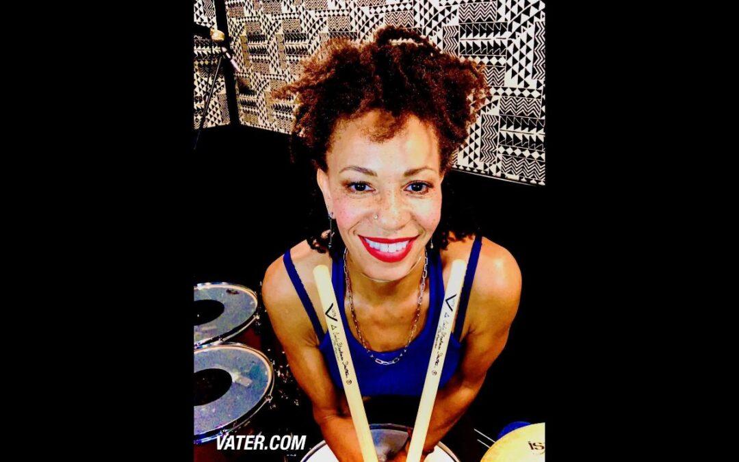 New Cindy Blackman Santana signature drumsticks from Vater