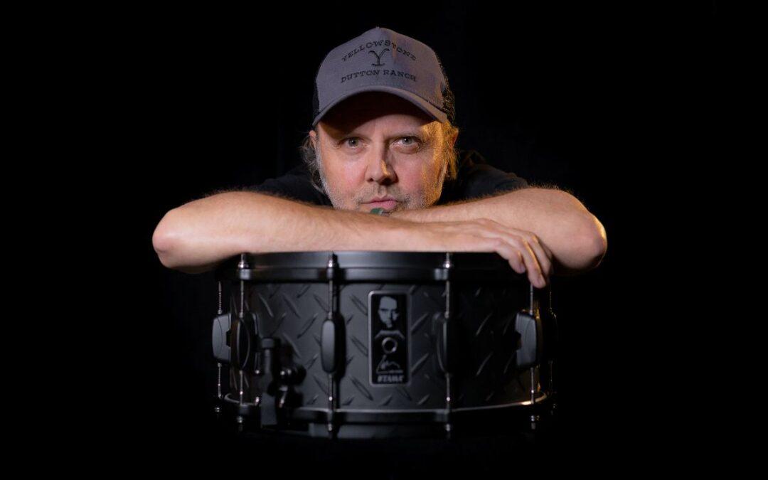 Tama Lars Ulrich 30th Anniversary Black Album Snare