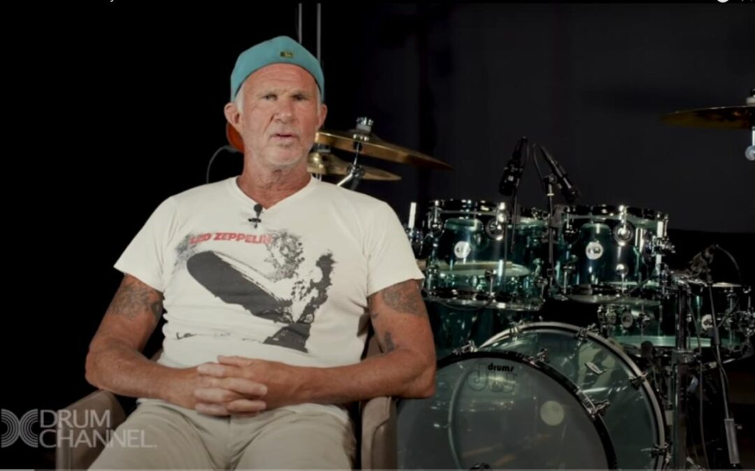 Chad Smith pays tribute to Neil Peart