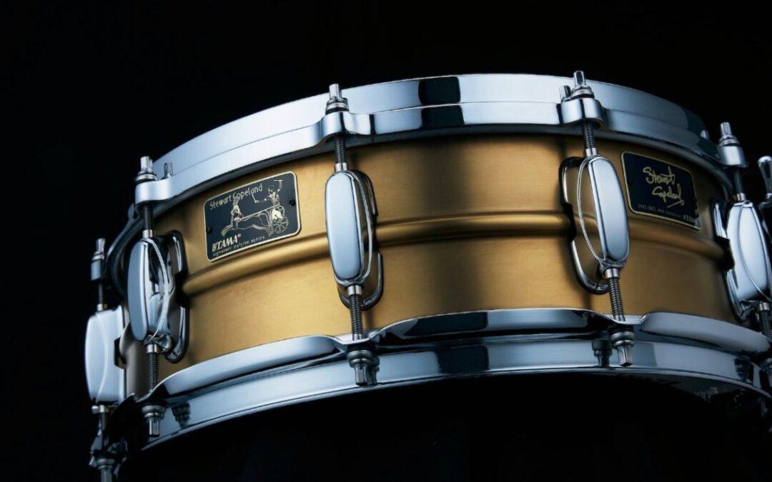 New for 2021: Tama Steward Copeland 40th Anniversary Snare