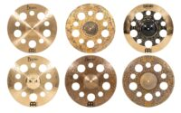 New holey crashes from Meinl Cymbals